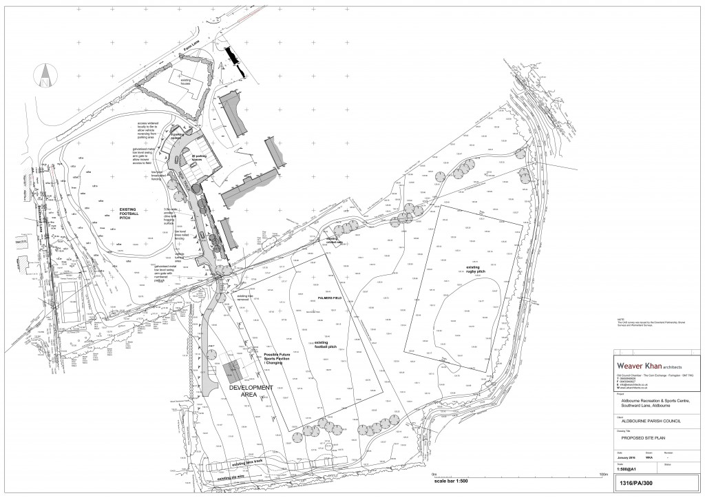 Phase 1 proposed site plan